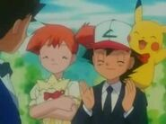 Wedding - Brock, Misty, Ash and Pikachu