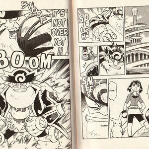 Pokemon Ranger And The Temple Of The Sea 2006 Manga The Parody