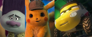 Branch, Detective Pikachu, and Dynamite