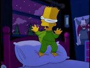 But one little boy goy away...Bart Simpson