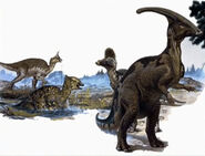 Lambeosaurids-encyclopedia-3dda