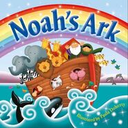 Noahs-ark-dolphins whales pigs parrots toucans hippos leopards elephants lions zebras goats egrets doves ravens bluebirds giraffes yaks gnus lemurs gorillas monkeys bats aardvarks armadillos anteaters