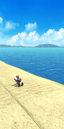 Sonic dash game over blaze defeated in the beach