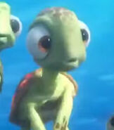Squirt in Finding Dory
