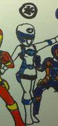 White Spy Force Ranger