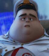 Captain B. McCrea in WALL-E