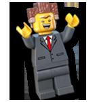 President business char