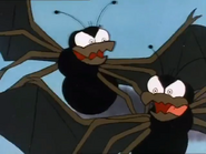 Spider Bats in Scooby Doo and the Ghoul School 01