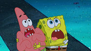 Spongebob and patrick so scared