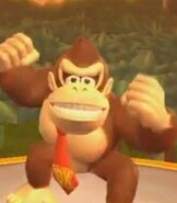 Donkey Kong in Mario Party 9