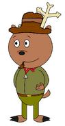 Owen Antler as Toon Bullet 1 (pipe)