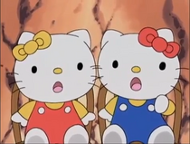 Kitty and Mimmy Screaming