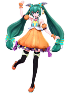 Mmd pdx sweet pumpkin miku happy halloween by luiz7429-dbp6l9g