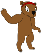 Una the Brown Bear