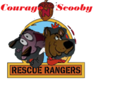 Courage & Scooby Rescue Rangers