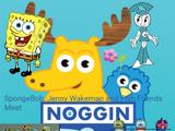 SpongeBob, Jenny Wakeman, and Fish Friends Meet Noggin