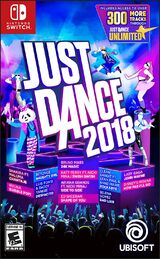 Just Dance 2018 (Cartoon / Anime Characters Edition) (PandaB31 version)