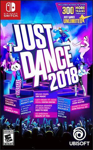 Just Dance 2018 Original Cover