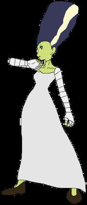 Mother Frankenstein themonsterclubhouse
