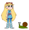 Star meets Giant Snail