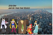 Alvin seville and toon tour mystery