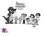 Barney and the Backyard Gang(1930s)