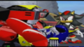 Metal Sonic's defeat (in Sonic Heroes)