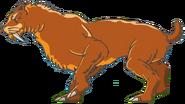 Smilodon Math vs Dinosaurs