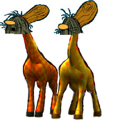 The Slag Brothers as The Giraffes