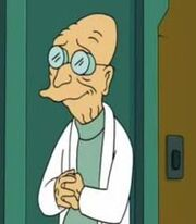 Professor Hubert J. Farnsworth being cool very cool very