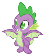 Spike the Dragon (My Little Pony) as Lumpy