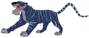 Armor Heartless tiger form therainbowfriends