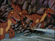 Fast biters in Land Before Time 3