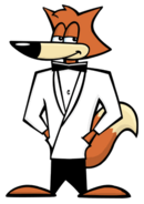 It's Agent Spy Fox