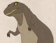 Tyrannor dink the little dinosaur