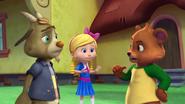 Bear scolds Billy