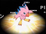 Biyomon (from Digimon) as Red Rooster