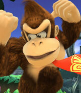Donkey Kong in Super Smash Bros. for Wii-U and 3DS