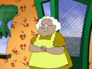 Muriel says about hat
