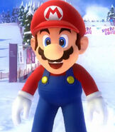 Mario in Mario & Sonic at the Sochi 2014 Olympic Games (2013)