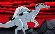 Nega-Beast-Boy-As-A-Spinosaurus