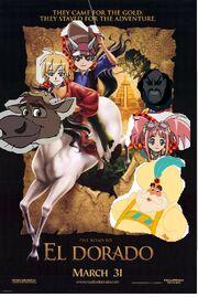 Road-to-el-dorado-movie-poster (DinosaurKingRockz Style)