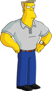 The Simpsons Rainier Wolfcastle