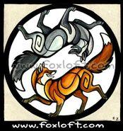 Yin-Yang Foxes