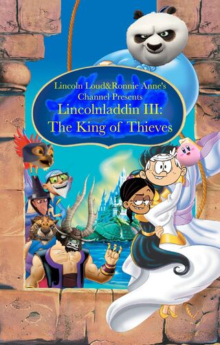 Lincolnladdin III- The King of Thieves (1996; Movie Poster)-0