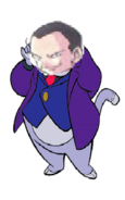 Giovanni as fat cat