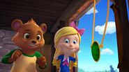 Goldie and Bear sees Jack got his mother's necklace