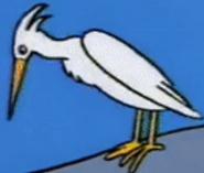 Simpsons Egret