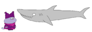 Chowder meets White Shark