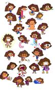 Dora's Possible Cartoonish Faces 2